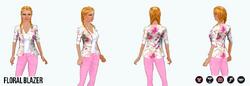 Spring - Floral Blazer
