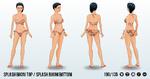 SurfsUp - Splash Bikini Top Splash Bikini Bottom
