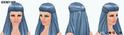 RoseQuartzAndSerenity - Serenity Hair