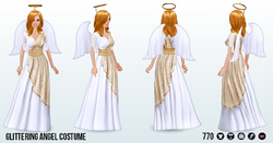 ChristmasCountdown - Glittering Angel Costume