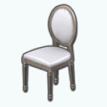 ElegantDiningDecor - Round Countryside Chair