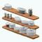 ModernOrganicDecor - Floating Shelves