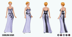 BlackAndWhite - Carolina Gown