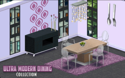 Ultra Modern Dining Decor Collection