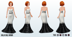 MidtownSpin - Gala Gal Gown