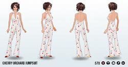 TuttiFruttiSpin - Cherry Orchard Jumpsuit2