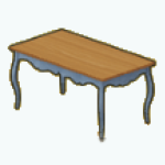 EnglishRoseSpin - Cottage Dining Table gray