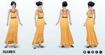 GermanUnityDay - Mila Dress