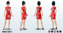 Vintage - Chinese Dress