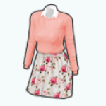EnglishRoseSpin - Dearest Rose Outfit