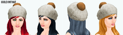 JumpIntoFall - Cable Knit Hat