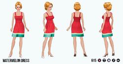 TheVault - Watermelon Dress