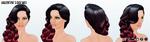 SweetOnYouSpin - Valentines Day Wig