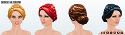 CherryBlossom - Braided Headband