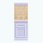 CafeRaffle - Penthouse Wainscoting
