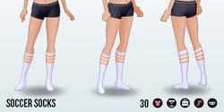 Athena - Soccer Socks orange