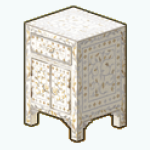 GirlOfPearlDecor - Pearl Inlay Nightstand