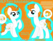 MLP Twin Adoptable