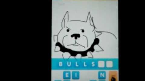 """EPIC """"Draw Something"""" FAIL (Friend attempts to guess my PITBULL drawing and fails miserably"""
