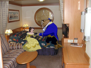 Belle and Beast join Disney Cruise Line Room