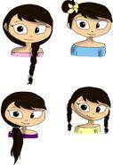 Sakura Hair styles