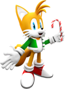 Sonic christmas tails