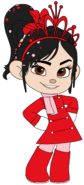 Vanellope's Trench Casual, Scarf & Crown