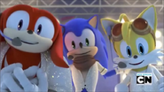 Singin Sonic Tails and Knuckles
