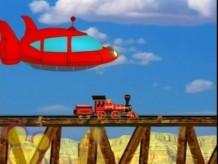 Go west stupid train................