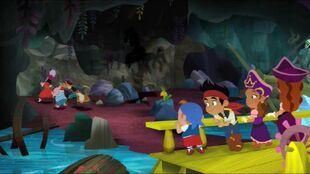 Scardy pirate