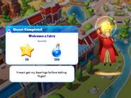 Q-welcome a fairy