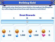 Me-striking gold-2-milestones