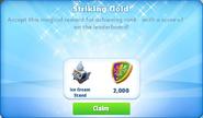 Me-striking gold-18-prize