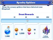Me-spooky spiders-1-milestones
