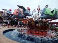Dumbo the Flying Elephant Hong Kong Disneyland