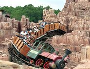 Big Thunder Moutain Railroad