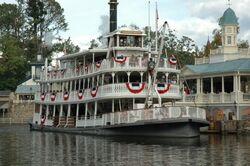Liberty Square Riverboat