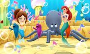 Mii with Ariel and Friends - DMW2