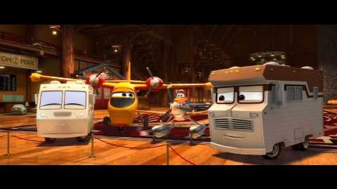 Planes 2 Fire & Rescue Clip - First Kiss -- Official Disney HD