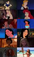 Disney Princess Angry