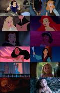 Disney Princess Shocked