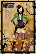 Steampunk mulan by helleetitch-d3cro0l