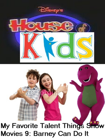 File:Disney's House of Kids - My Favorite Talent Things Show Movies 9- Barney Can Do It.png