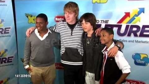Leo Howard at Disney Channel's Worldwide Kids Upfront 2012-13 5