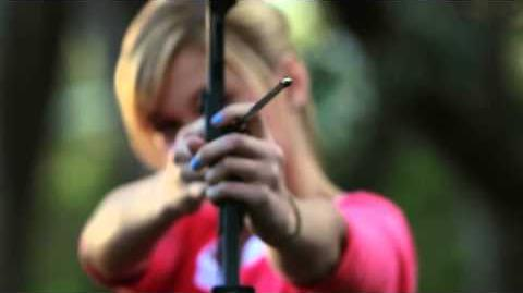 Disney XD's Olivia Holt and Kelli Berglund Try Their Hands at Archery!