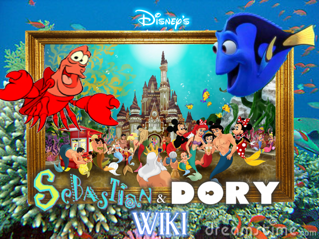 File:Disneys Sebastian and Dory in Under the Sea wiki.png