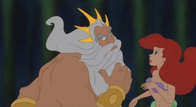 File:The Little Mermaid Triton Reprimanding Ariel.jpg