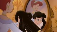 Ariel doing melody s hair by rufusmisser-d4thz22