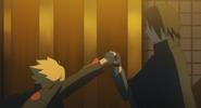 Boruto meets Sasuke