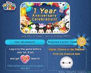 DisneyTsumTsum Lucky Time International 1YearAnniversary LineAd 20150630